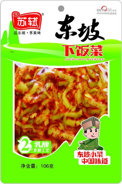 106g*50袋  东坡下饭菜
