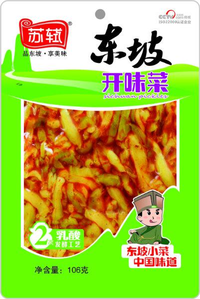 106g*50 东坡开味菜