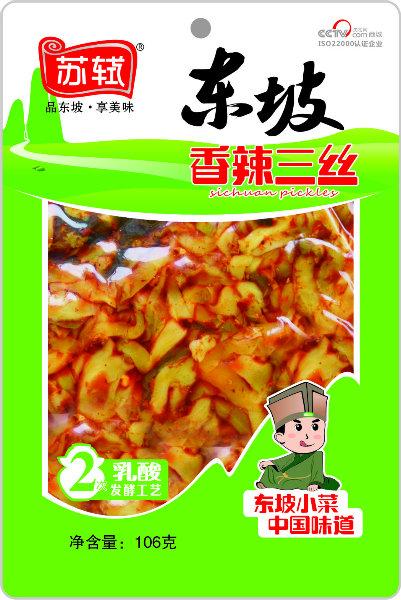 106g*50袋 东坡香辣三丝
