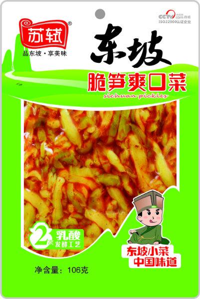 106g*50袋 东坡脆笋爽口菜