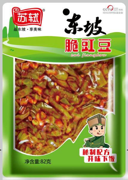 82g*50袋 东坡脆豇豆